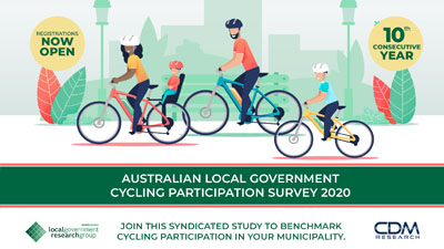 Australian Local Government Cycling Participation Survey 2020